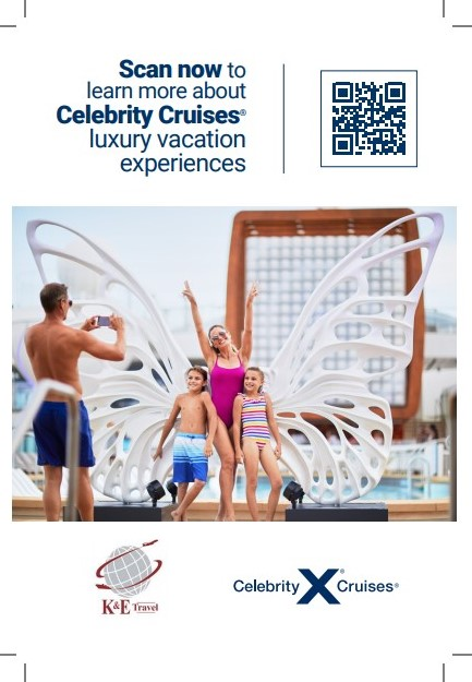 Scan for Celebrity Cruise Info